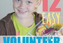 Kid volunteer