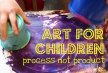 Process Over Product-Art for Children