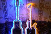 LEDs / Светодиодная лента в светильниках и интерьере