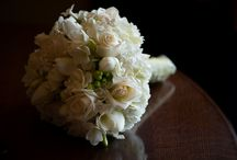 Christ the King Wedding / Spring wedding using tulips, roses, stephanotis, freesia, and hydrangea.