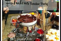 Fondue partying