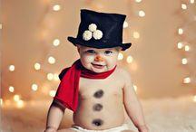 şapkalı bebek noel baba