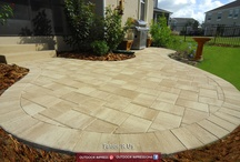 My Perfect Patio / Outdoor Living, Pavers, Stone, Cookouts, Outdoor Kitchens