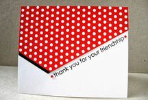 """""""Thank You Cards"""" I made"""