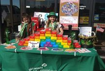 Girl Scout Cookie Booths & Recipes