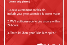 Alumni Pin Your Pride / What sparks your Drake pride? Whether it's an old Relays photo or a new blue jacket, we want to see it. To pin here, leave a comment with your years attended on the first Tulsa Tech pin. As always, keep it clean.