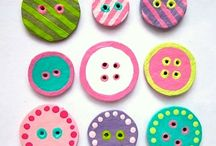 Button It / button crafts / by Deb Auliff