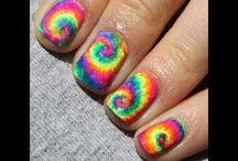 Nails / Ty dye