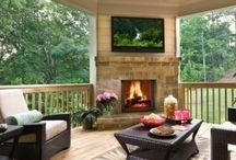Inviting Outdoor spaces / by Tricia Kolb