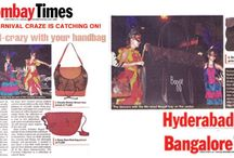 Timelessly Trendy in the Times! / As one of India's premier fashion brands its our privilege to give our customers fashion that's fresh off the runway and we're thrilled to be featured in not just Bombay times but Hyderabad times and Bangalore times as well!  Showcasing our fabulous new carnival collection the write-up mentioned the fun party like activity we had on Linking Road.  Check out the news for more details as well as a sneek peek at our new range! Fabulously fashionable, fabulously you.