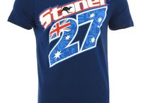 Casey Stoner Merchandise / The items all CS27 fans only dream to own, check them all out here available from the All Stars Direct site. Whether your just kickin' back watching MotoGP at home on a Sunday or if your at the track races your going to love these to support your favourite rider Casey Stoner. T-shirts, Hoodies, Caps, Beanies and Acessories you name if we've got it!