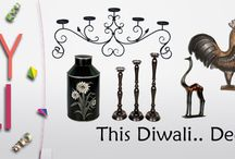 The Diwali Season / This Diwali furnish your home with our trending collections,artistic handicrafts & many more magnificent and classic range of products shop on Furnitures http://www.dezaro.com/  -Setting trends in Handicrafts.