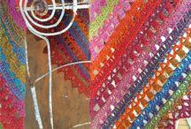 Haken omslagdoeken, poncho's kooppatroon