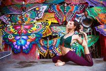 YOGA PHOTO SHOOT INSPIRATION / Inspiration for your next professional yoga photo shoot!