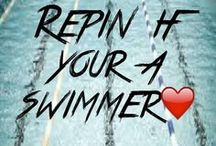 Swimming ♥♥♥ / I was swimming competitively for the years. I want it back! :)