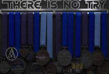 Medal Hanger Diy