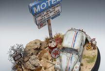 Wolkswagen Diorama & Models