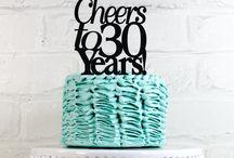cake 30th birthday women / 30th party