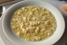 CUCINA: zuppe, minestre e affini