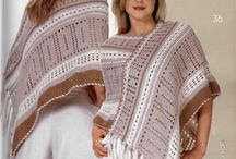 CROCHET PONCHOS / by Charlotte English