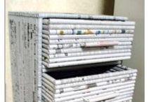 újság bútor