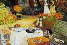 Pinturas de Monet Claude | O Pai do Impressionismo