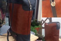 Leather backpack / Men's leather bag
