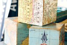 Map decor ideas / Map decor ideas