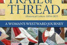 Trail of Thread by Linda K. Hubalek