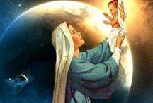 virgen Maria luz del mundo