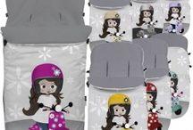Sacos de carros y grupo 0 / Sacos elaborados con textiles de alta calidad, muy transpirables y lavables. ¡Trabajamos con las mejores marcas!
