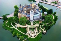 Castle / Amazing castles, there interiors and gardens etc.