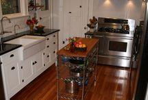 Kitchen Antique Wood Floors