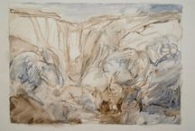 Developing a painting over one or two sketches / Pilbara #Painting