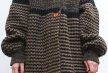 Knitted jackets /  A lot of great knitted jackets. With and without patterns