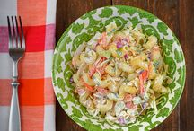 Pasta Salad Sweeps / Delicious and healthy pasta salad recipes from Pasta Fits. Go to Facebook.com/PastaFits, enter, and pin one of these recipes for a chance to win $500 in our #PastaSaladSweeps!