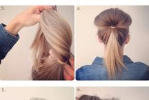 Hairstyles / Bun tutorial