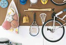 Garage organization / by Haley Sampson Hill