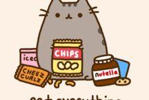 pusheen cats y gatos kawaii
