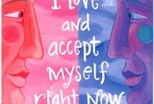 Positive Affirmations / Try finding a positive affirmation that resonates with you and keep saying to yourself throughout your day... Small changes for a more positive, happier life