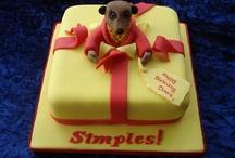 Birthday cakes etc