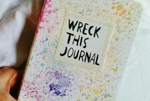 •Wreck This Journal•