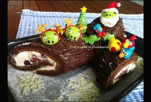 Christmas Bakes / All my own creations for Christmas