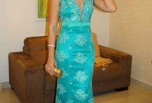 Vestidos Azul Tiffany