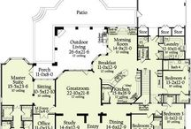 Dream floor plans / by Nichole Funk