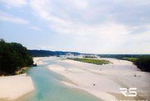 Tagliamento, the beautiful river