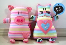Soft toys and kids' pillows