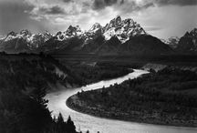 Ansel Adams b&w photos / by Naomi Handleman