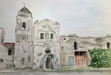 Watercolour Italy, made by me
