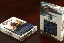 Legend of the 5 Rings / Q-workshop in cooperation with  Alderac Entertainment Group proudly announces new official dice sets for Legend of 5 Rings Role Playing Game. The unique and beautiful dice are designed especially for all the Great Clans in the game. In total, they sum up to nine clan designs and one special set for the Imperial Families. Each dice set contains ten D10 dice in the clan color with the clan symbol engraved instead of the highest number. Each set comes in its own carefully designed packaging.